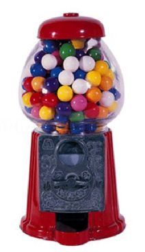 A childhood favorite - the gumball machine - turned office accessory, to make your days work a little less soul-crushing. Available for $19.99.