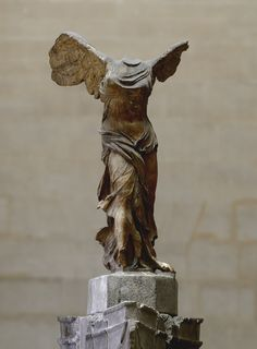 Nike of Samothrace. Marble. Ca. 190 B.C. Height 3.28 m. Inv. No. Ma 2369. Paris, Louvre Museum. (Photo by I. Sh.).