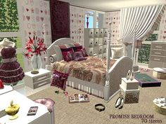 Promise Bedroom V2 at BPS - Such a pretty room!