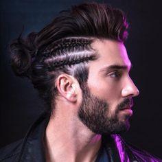 male coloration ruban tresses coiffures cheveux barbes mens coiffure de les cheveux de lhomme cheveux hommes - Just For Men Coloration Cheveux Homme