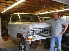 Ford mainly used Marmon Herrington to upfit their 1 ton and larger trucks to 4x4. Napco also upfitted Fords but they were not as common as the Marmon Herrington. This is an extremely rare 1970 F350 Napco, not too many of them around today.