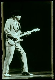Stevie Ray Vaughan. Photo by W.A. Williams