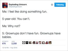James Breakwell's hilarious Exploding Unicorn Tweets : theCHIVE