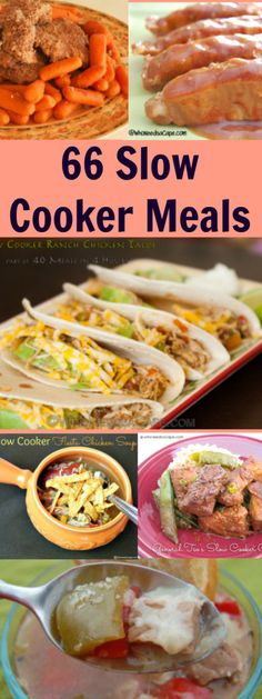 Need some new Crock Pot recipes? Who Needs a Cape has a list of over 66 Slow Cooker Dinners.