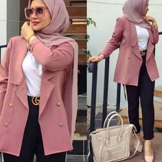and classic hijab outfits – Just Trendy Girls Modern Hijab Fashion, Hijab Fashion Inspiration, Muslim Fashion, Mode Inspiration, Modest Fashion, Style Fashion, Fashion Outfits, Fashion Tips, Casual Hijab Outfit
