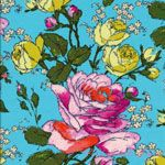Amy Butler Alchemy Sketchbook Spring LAMINATED [WF-OCAB023-Spring] - $19.45 : Pink Chalk Fabrics is your online source for modern quilting cottons and sewing patterns., Cloth, Pattern + Tool for Modern Sewists