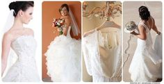 Pick the perfect bridal gown....the sheath with a sweetheart corset top is my favorite