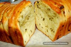 Cooking with Zoki: Pull Apart hleb sa začinima Savory Pastry, Pull Apart Bread, Yeast Bread, Bread And Pastries, Special Recipes, Mediterranean Recipes, Croissant, Brunch, Food And Drink