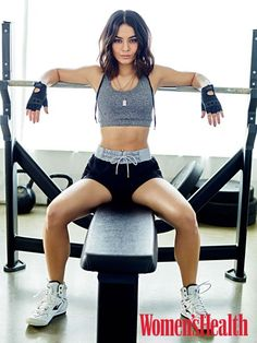 Vanessa Hudgens - Women's Health Magazine May 2017 Estilo Vanessa Hudgens, Vanessa Hudgens Body, Body Fitness, Fitness Wear, Fitness Diet, Fitness Fashion, Sixpack Women, Powerlifting Women, Fitness Inspiration