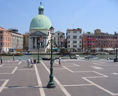 View from Venice train station to Grand Canal via Meira's World blog.