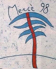 Cartell Festes de la Mercè 1998. Disseny de Ramon Herreros.