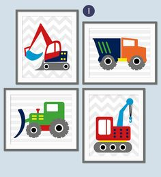 Hey, I found this really awesome Etsy listing at https://www.etsy.com/listing/221265146/boys-construction-nursery-digger-truck