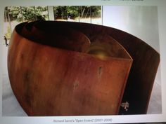 Gevouwen kloof/Richard Serra/Voorlinden