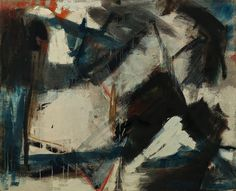 Judith Godwin, Battle Within 1956, Oil on canvas