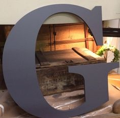 """Wooden Letter For Wall   Extra Large A B C D G H J K L M P W S   30""""   Barn Door Decor   Wedding Guestbook   Wall Hanging   Sweetheart Table by ASimplePlaceOnMain on Etsy https://www.etsy.com/listing/235196642/wooden-letter-for-wall-extra-large-a-b-c"""