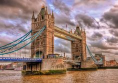 Tower Bridge is a combined bascule and suspension bridge in London, over the River Thames. Tower Bridge London, Tower Of London, London In January, Bridge Wallpaper, Things To Do In London, Famous Places, London England, Places To Visit, Europe