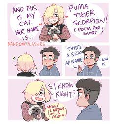 I don't own the comic. Though I wish I did. It's cute af.