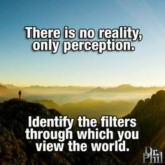Perception Is Reality Quote Collection Perception Is Reality Quote. Here is Perception Is Reality Quote Collection for you. Perception Is Reality Quote perception is reality picture quotes. Inspirational Thoughts On Life, Dr Phil Quotes, Famous Quotes, Best Quotes, Perception Quotes, I Have A Boyfriend, World Quotes, Life Philosophy, Word Pictures