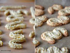 Biscuits & Sablés & Cookies Archives - Page 2 sur 5 - L'Heure du Cream Sable Cookies, Alsace, Cookie Bars, Cream, Desserts, Recipes, Christmas, Chocolate Truffles, Spritz Cookies