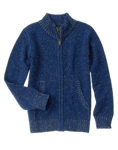 Marled Zip Sweater at Gymboree