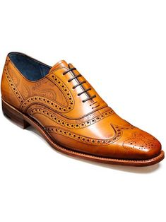 The McClean is a modern take on the traditional full brogue with intricate wingtip and toe punch detail. Creative Collection Full Leather Lining Goodyear Welted Leather Sole Heel - Leather 1/4 Rubber Barker Last - 443 Made in U.K.