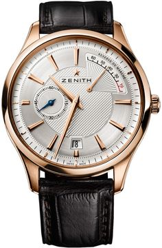 If I could blow any amount of money on a watch, this would be the one. Zenith Elite Captain Power Reserve. Yeah. #zenith #watch