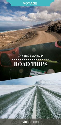 À la recherche d'idées pour votre road trip? Découvrez les plus beaux road trips d'Europe et du monde, avec des itinéraires remplis de bonnes adresses.  #roadtrip #roadtrips #voyage #voyager #europe #monde