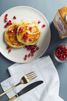 Vegan Eggnog Pancakes Recipe