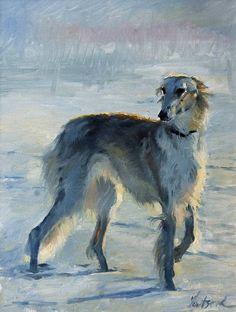 Russian Winter, автор Sergei. Артклуб Gallerix
