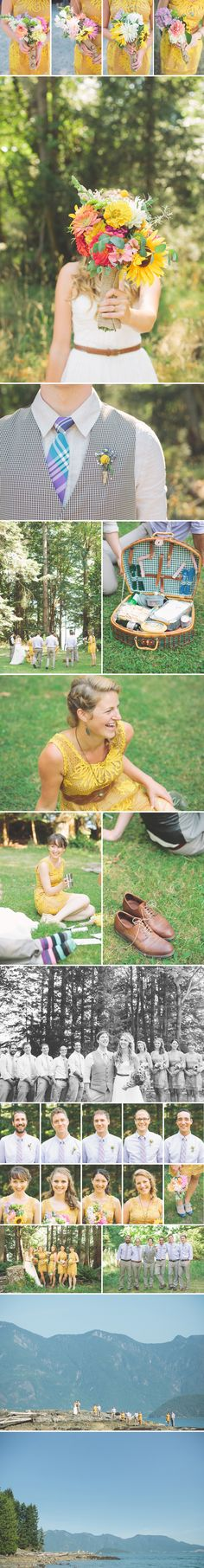 bridesmaid shot - less formal, nice to have the photos of each members of the bridal party but better if they were more candid (not all looking at the camera)