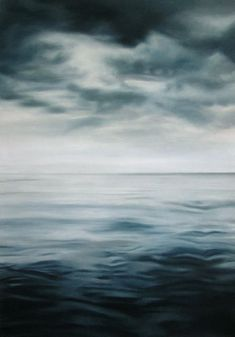 """Pretty incredible!   """"Zaria Forman's pristine, photorealist paintings of the ocean and remote, icy landscapes are painted by hand—quite literally using her fingertips to render marks in paint and chalk, rather than brushes. Traveling to far-flung corners of the globe affected by climate change, in order to source inspiration for her large-scale compositions."""""""