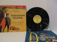 TREASURE ISLAND Vinyl Record Album - Based on Novel by Robert Louis Stevenson by CellarDeals on Etsy