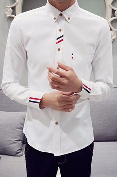 French Classy Floral Dress Shirt (5 colors)