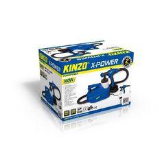 Kinzo X-power verfpistool set 350W #kinzo #gereedschap #xpower #klussen #verfpistool