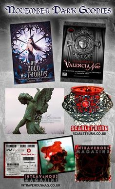 #Subscribe to TRAGIC BOOKS #NEWSLETTER – win this #Giveaway ! #Dark #Gothic - 7th Nov-6th Dec - http://www.tragicbooks.com