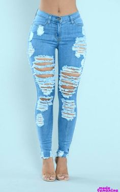 The Perfect Jeans for Women - Shop Affordable Denim – translation missing: en.page, Walk It Out Distressed Jeans - Medium. Outfit Jeans, Cute Ripped Jeans Outfit, Diy Ripped Jeans, Superenge Jeans, Diy Jeans, Cute Pants, Distressed Skinny Jeans, Ripped Jeans Style, Nova Jeans