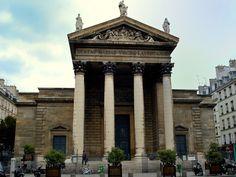 Notre-Dame de Lorette, by Hippolyte Lebas, 1823-36, Paris, France