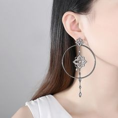 #cerceinegriirotunzi #cerceirotunzimari Hoop Earrings, Jewelry, Fashion, Jewellery Making, Moda, Jewerly, Jewelery, Fashion Styles, Jewels