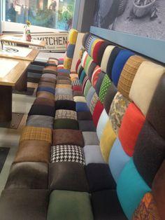 Patchwork Sofa selfmade idea
