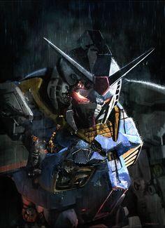 "artissimo: ""gundam 55 by alessandro talexi taini Sparrow: Phil Hale Volume Number 5 "" Art Gundam, Gundam 00, Gundam Wing, Mecha Anime, Gundam Iron Blooded Orphans, Mecha Suit, Gundam Wallpapers, Gundam Mobile Suit, Robot Concept Art"
