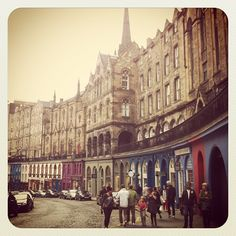 Lovely Edinburgh!  Instagram photo by @sarahlouuu via ink361.com