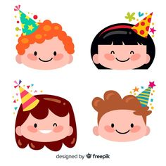 More than 3 millions free vectors, PSD, photos and free icons. Exclusive freebies and all graphic resources that you need for your projects Eid Crafts, Diy And Crafts, Crafts For Kids, Cartoon Cupcakes, 2 Clipart, Birthday Charts, Cardboard Box Crafts, Kids Background, Birthday Clipart