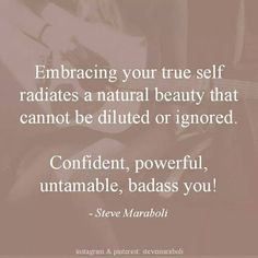 Embracing your true self!