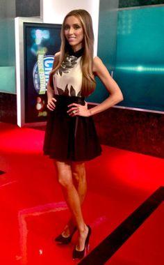 Giuliana Rancic in a Nha Khanh skirt