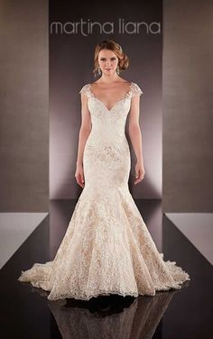 Mermaid Cut Wedding Dress By Martina Liana Gowns At Bridal Collections Stella