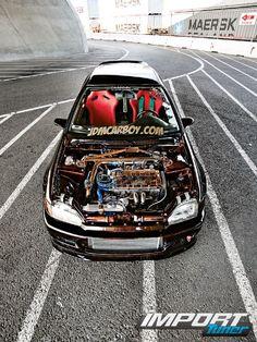 Тюнинг Honda Civic EG. Вызов принят