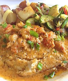 Come try this tasty Crawfish Acadiana at Nash's Restaurant #EatLafayette
