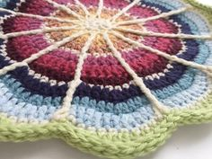 Amy's #Crochet Mandala for #DepressionAwareness