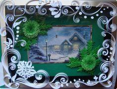 Картина, панно, рисунок Квиллинг: И от меня небольшая порция новогодних радостей!!! Бумага. Фото 3