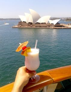Sydney, Australia and cruisng with Carnival Spirit. Check it out here: http://www.ytravelblog.com/carnival-spirit-launch-in-sydney/